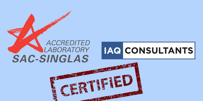 IAQ Consultants Singapore Accredited by SAC SINGLAS